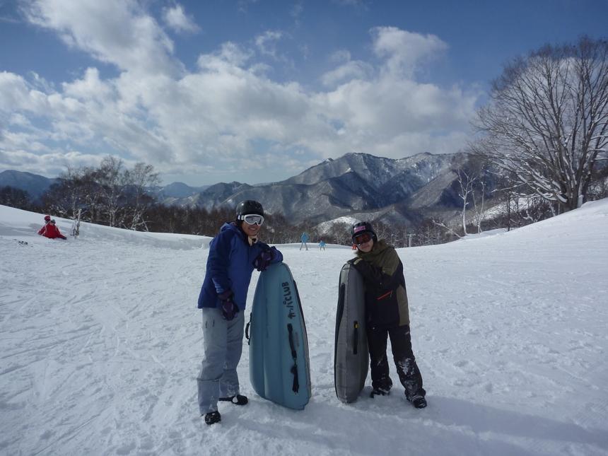 エアーボード遠征ツアーIN野沢温泉