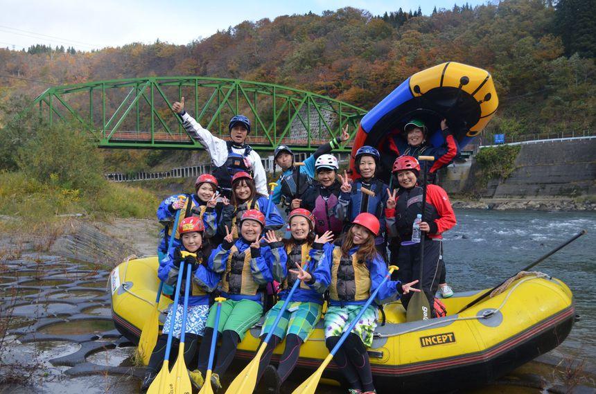 2017漕ぎ収め☆信濃川ラフティング(10月26日〆切)