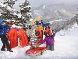 エアーボード遠征ツアーin野沢温泉スキー場