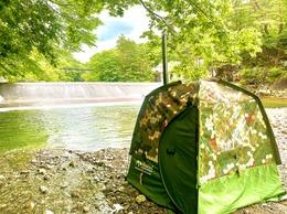 DAY CAMP サウナ  ~野営テントサウナ&水遊び&キャンプ飯を堪能!1グループ貸切企画!!その②~